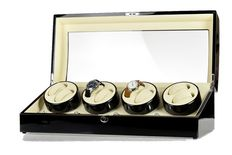 Premium + Watch winder for 8 automatic and 9 quartz watches, NEW