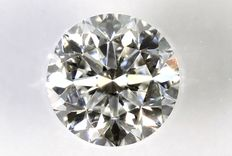Diamond, 0.50 ct, in sealed IGL certificate – E colour & INTERNALLY FLAWLESS