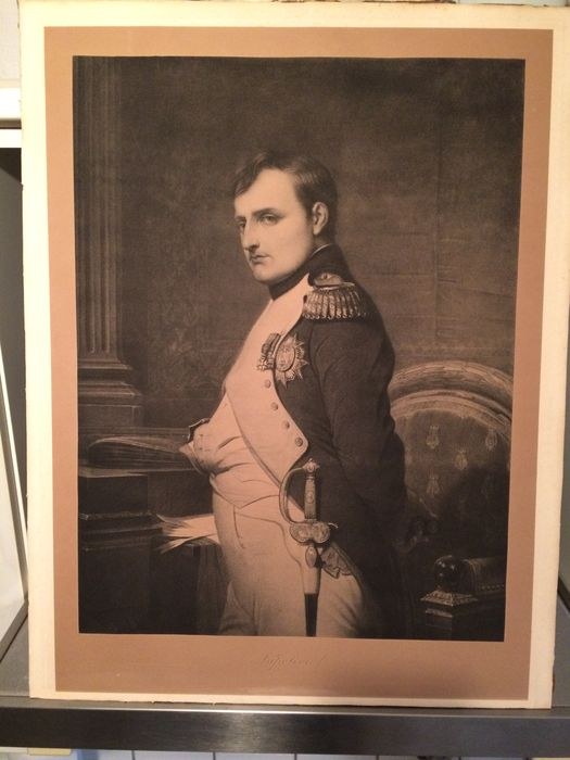 Napoleon Bonaparte - large print - by Paul Delaroche