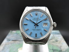 Rolex Datejust 1601 Blue Dial – Unisex watch – 1970