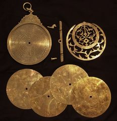 Persian astrolabe, end of the 19th century, brass
