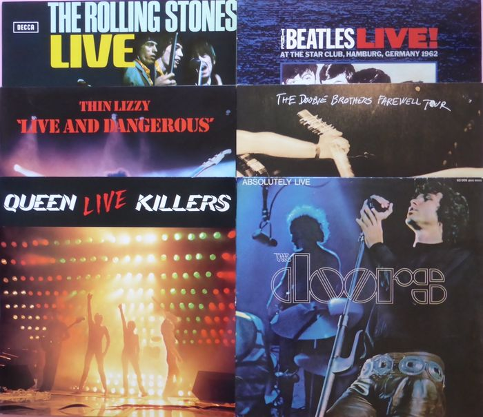 Absolutely Live Six Live Albums Including 4 Doubles By