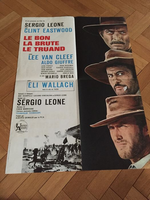 Clint Eastwood - 6x French original movie poster - different sizes - Dirty  Harry, For a Few Dollars More, Tightrope, Josey Wales - Catawiki