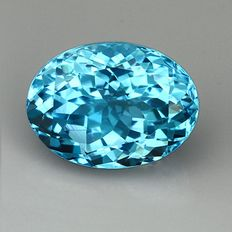 Swiss blue Topaz – 20.84 ct