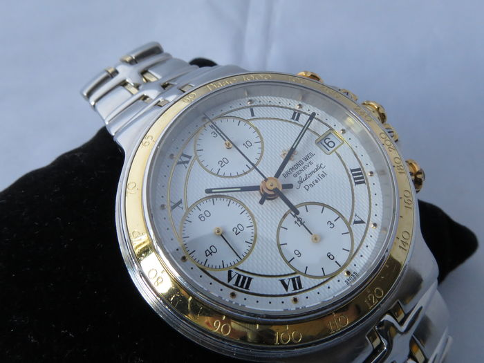 93fdb35d022 Raymond Weil Parsifal Chronograph Automatic ( ref  7790 ) – Men s wristwatch  1990s
