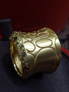 Pomellato - 'Cocco' ring - 18 kt yellow gold