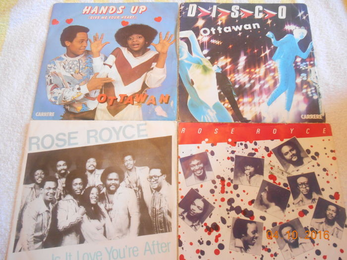 100  Singles  ''Pop--Disco--Rock''  From The Great  70s & 80s