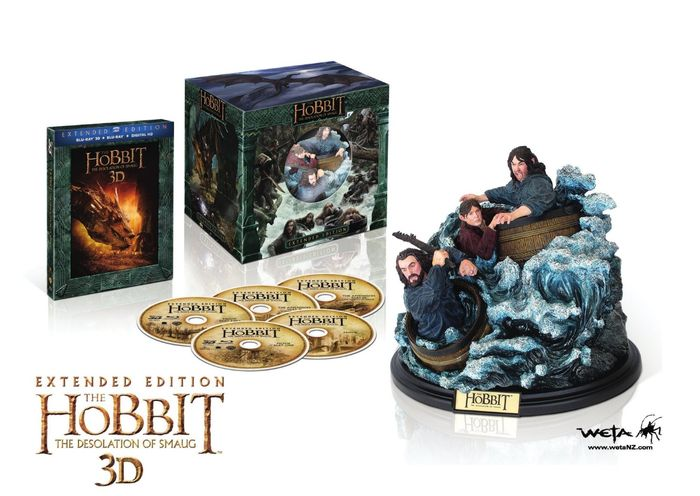 The Hobbit: The Desolation of Smaug 3D 3D Blu-ray kopen ...