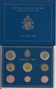 Vatican - Year set 2002 'John Paul II'