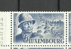 Luxembourg 1947 -  General Patton - 50 series of 4 values - Prifix 398/401