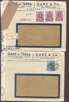 Europe - 498 Postal items and covers