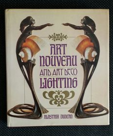 Literature; 'Art Nouveau and Art Deco Lighting' - Alastair Duncan