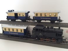 "Märklin H0 - From set 29263 - ""Feriënexpress"" with tender locomotive BR 80 and 3 carriages"