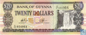 Guyana 20 Dollars ND (2010)