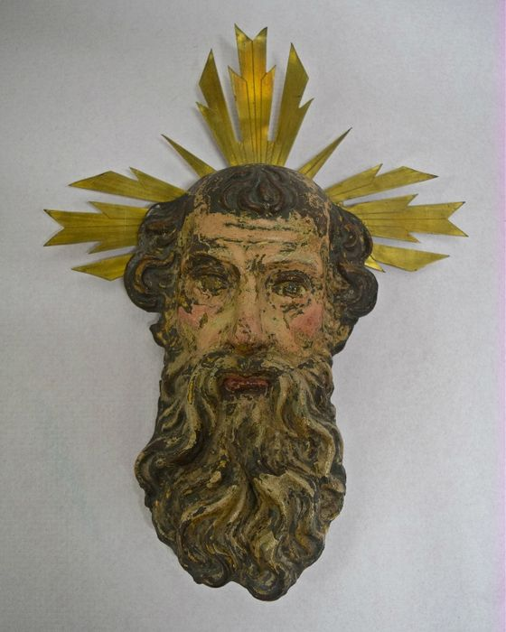 Woodcarving of Father God, 17th century