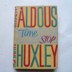 Lot of three books by Aldous Huxley - 1945 / 1974