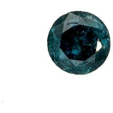 Blue brilliant cut diamond of 0.33 ct. Certified by GS Laboratories.