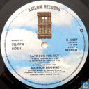 Vinyl records and CDs - Browne, Jackson - Late for the Sky