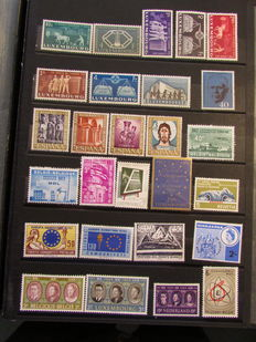 Europe theme 1968/1985 - Collection of stamps