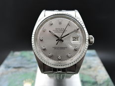 Rolex Datejust 1601 Diamond – Unisex watch – 1969