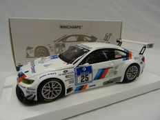 Minichamps - Schaal 1/18 - BMW GT2 Nr# 25 - BMW Motorsport Winner 24H Nürburgring 2010 - Limited 1398 Pieces Drivers Lammy/Alzen/Farfus/Müller