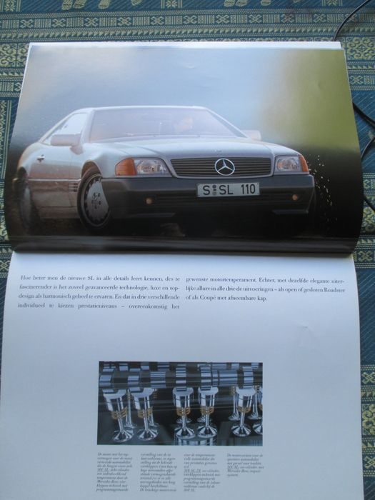 car leaflets mercedes 36x most 1980s 1990s catawiki. Black Bedroom Furniture Sets. Home Design Ideas