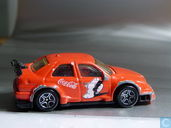 Model cars - Matchbox - Alfa Romeo 155 (ITC) 'Coca-Cola'