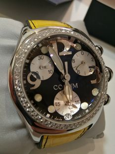 Corum Bubble XL diamonds – Men's watches.
