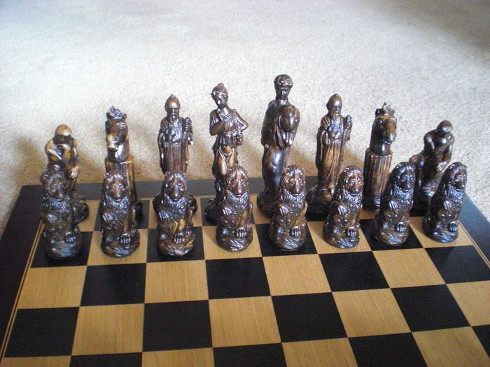 Large Chess Set With Classic Chess Pieces Catawiki