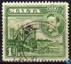 Postage Stamps - Malta - King George VI