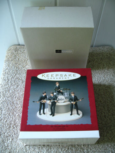 Beatles hallmark keepsake ornament gift set usa 1994 very Hallmark usa
