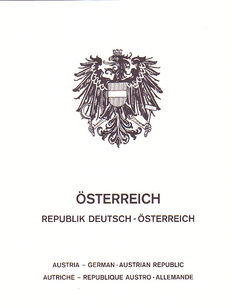 Austria 1850/1972 - collection with dependencies between ANK Nr.  3/1394 and postage Nr. 3/267