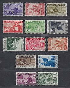 Luxembourg 1935 - Intellectuals -  Michel 266/280