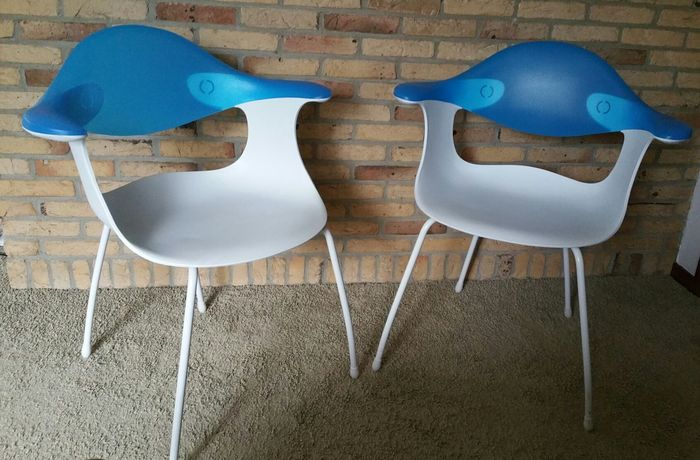 ross lovegrove for driade bluebelle chairs 2 x catawiki