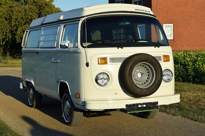 volkswagen westfalia t2 usa camping car 1973 camping car d 39 origine sortie usine catawiki. Black Bedroom Furniture Sets. Home Design Ideas