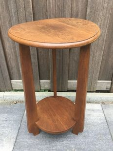Amsterdam School side table, Approximately 1930, Amsterdam, the Netherlands