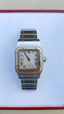 Cartier Santos Galbee XL 187901 – Unisex watch – 1992