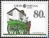 Timbres-poste - Açores - Europe – Transports et communications