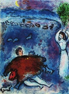 Marc Chagall (1887-1985) (after) - Daphnis & Chloé