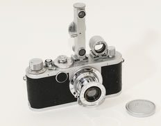 Leica Ic with FOKOS rangefinder and SBOOI viewfinder