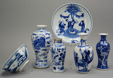 Lot with Chinese porcelain - China - 19th century.