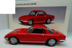 AUTOart - Scale 1/18 - Lotus Elan S/E (S3) Coupe 1966 - Red