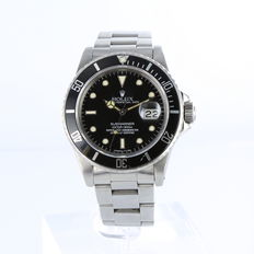 Rolex Submariner Spider Dial Ref. 16800 - Men's watch - 1987