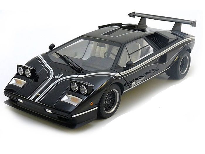 kyosho scale 1 12 lamborghini countach lp500r colour black catawiki. Black Bedroom Furniture Sets. Home Design Ideas