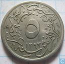 Egypte 5/10 qirsh 1901 (1293-27)
