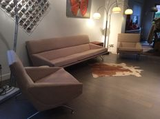 George Van Rijck for Beaufort  – sofa and 2 armchairs