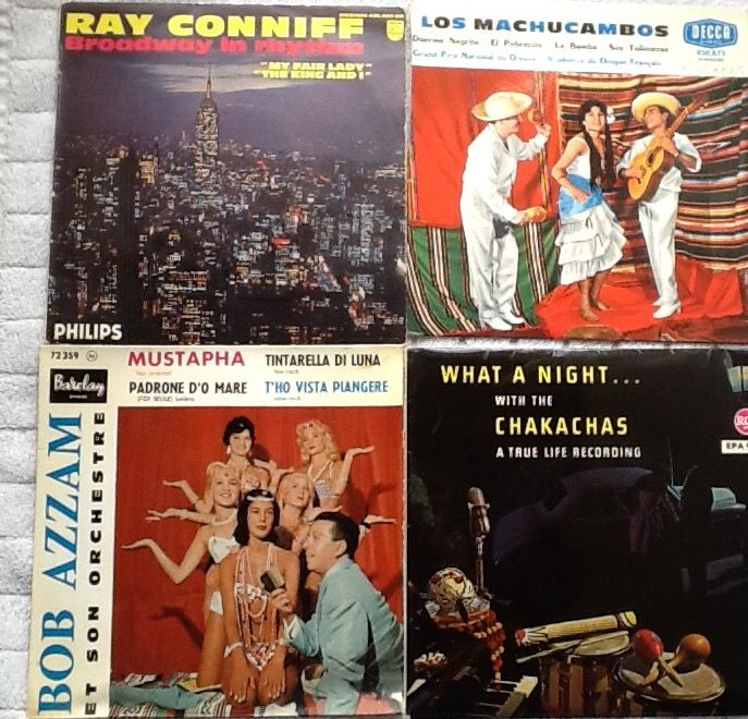 50 EPs And Singles -French Music- Film Music- Latin Music