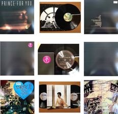 "Prince Lot Of  Three  ( 3 )  Collectable Records Including The Famous  ""Black Album""  -  All Are Re - Issues !"