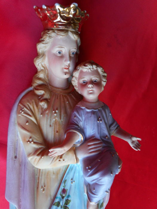 Evaluation of the sculpture virgin and