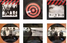 """U2 Lot Of Two  ( 2 )  LP's  """"How To Dismantle An Atomic Bomb""""  &   Picture Disc LP  """"The Joshua Tree"""""""